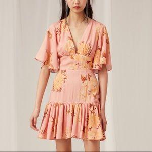 KEEPSAKE the Label Dresses - Keepsake The Label Pink Floral Mini Dress